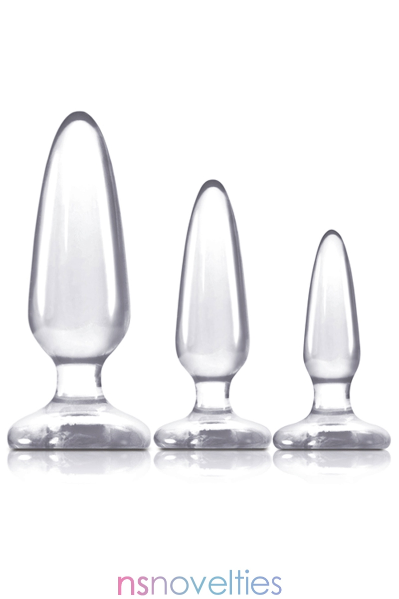 Kit entrainement anal Jelly Rancher Transparent
