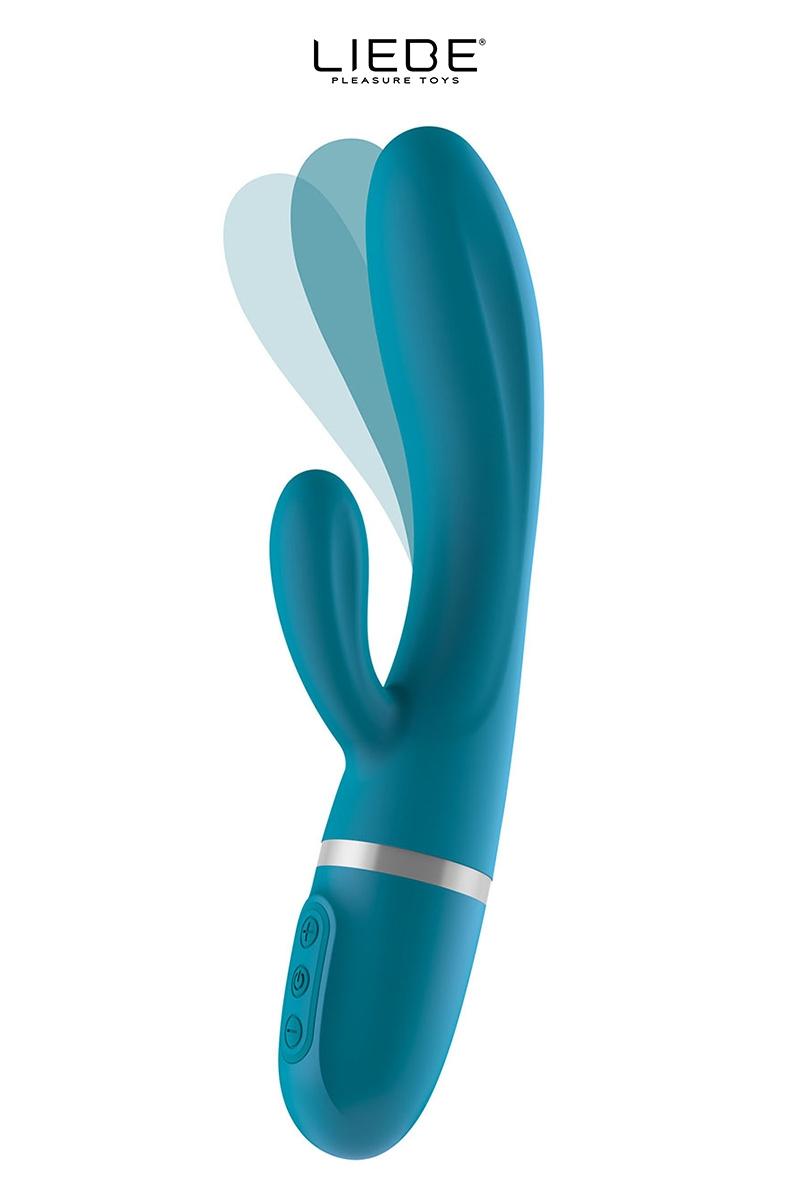 Rabbit flexible Bend It Plus bleu