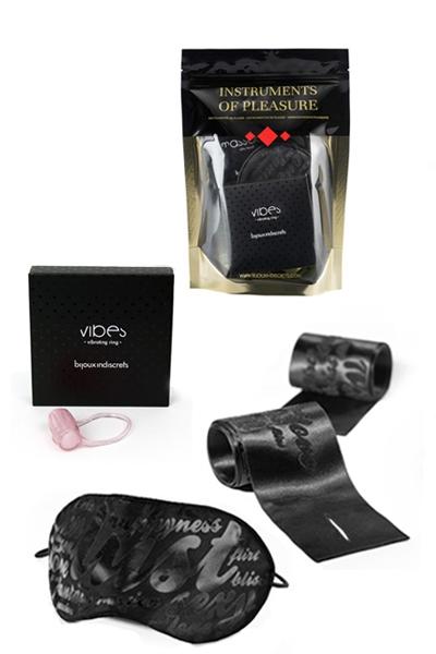 Coffret Instrulents de plaisir Red Level de la marque Bijoux Indiscrets, accessoires BDSM et coquins - oohmygod