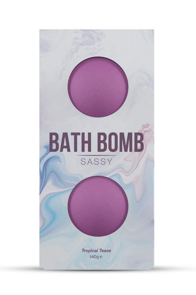2 Bombes de bain Sassy