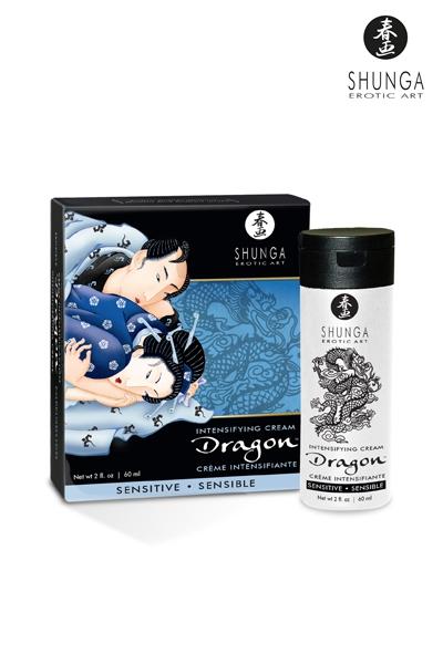 Crème de virilité du dragon sensible
