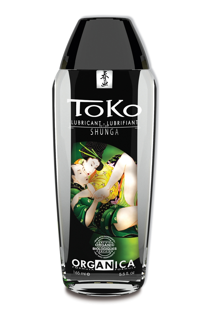 Lubrifiant bio à base d\'eau Toko Organica - 165 ml