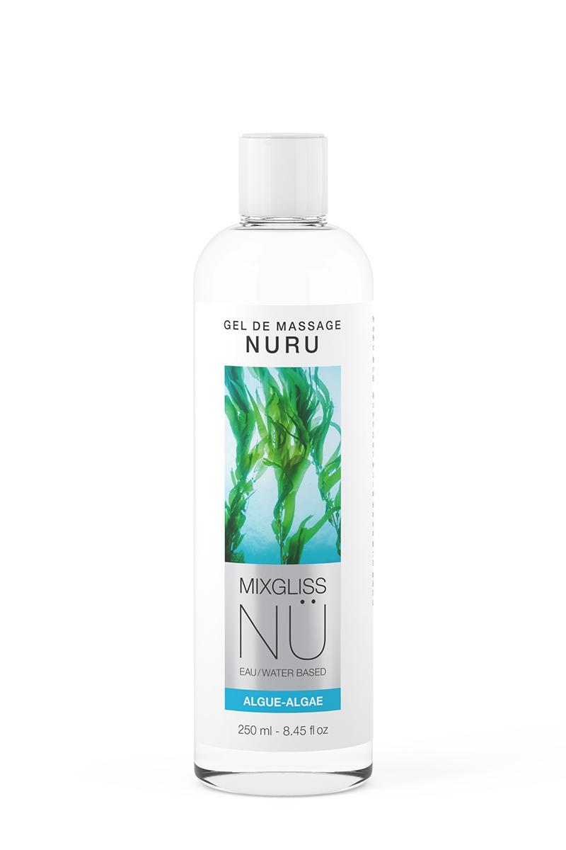 Gel massage vegan Nuru Algue Mixgliss - 250 ml