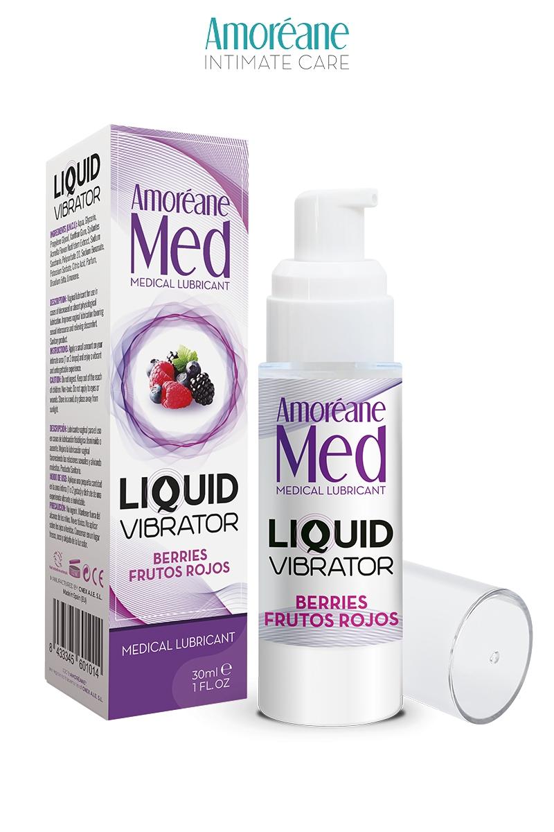 Lubrifiant Liquid Vibrator - Baies Rouges - Amoréane Med