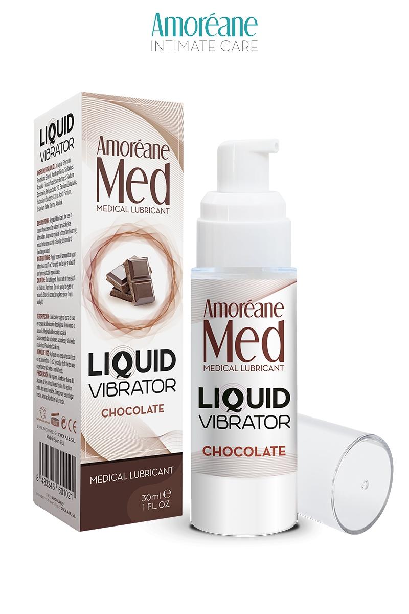 Lubrifiant Liquid Vibrator - Chocolat - Amoréane Med