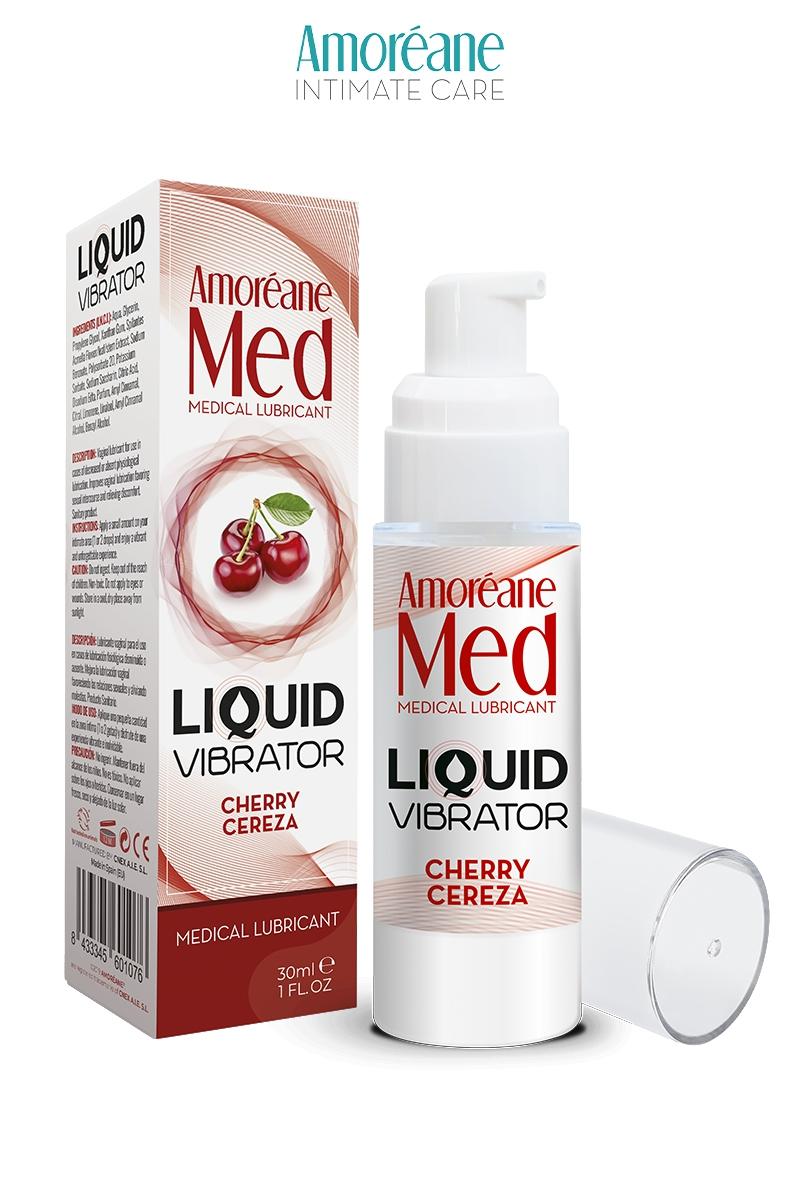 Lubrifiant Liquid Vibrator - Cerise - Amoreane Med