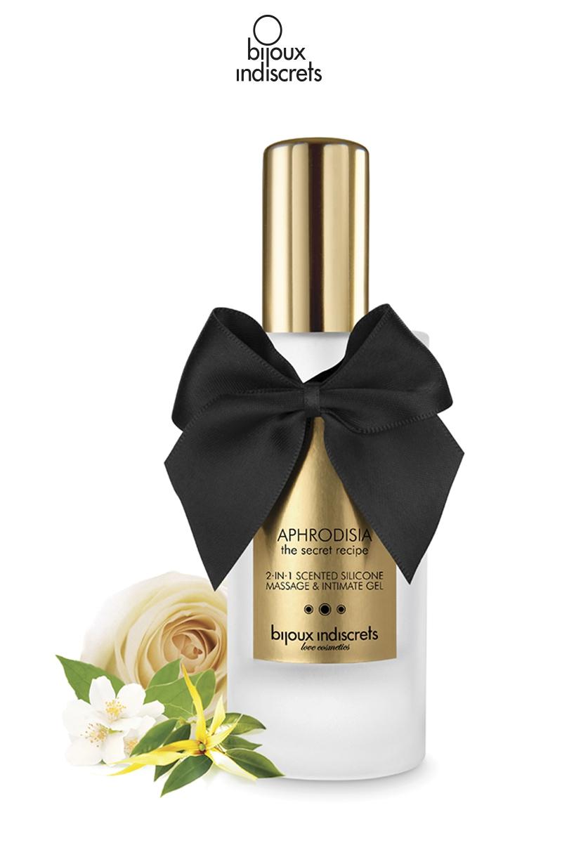 Gel parfumé 2 en 1 massage et lubrifiant - Aphrodisia