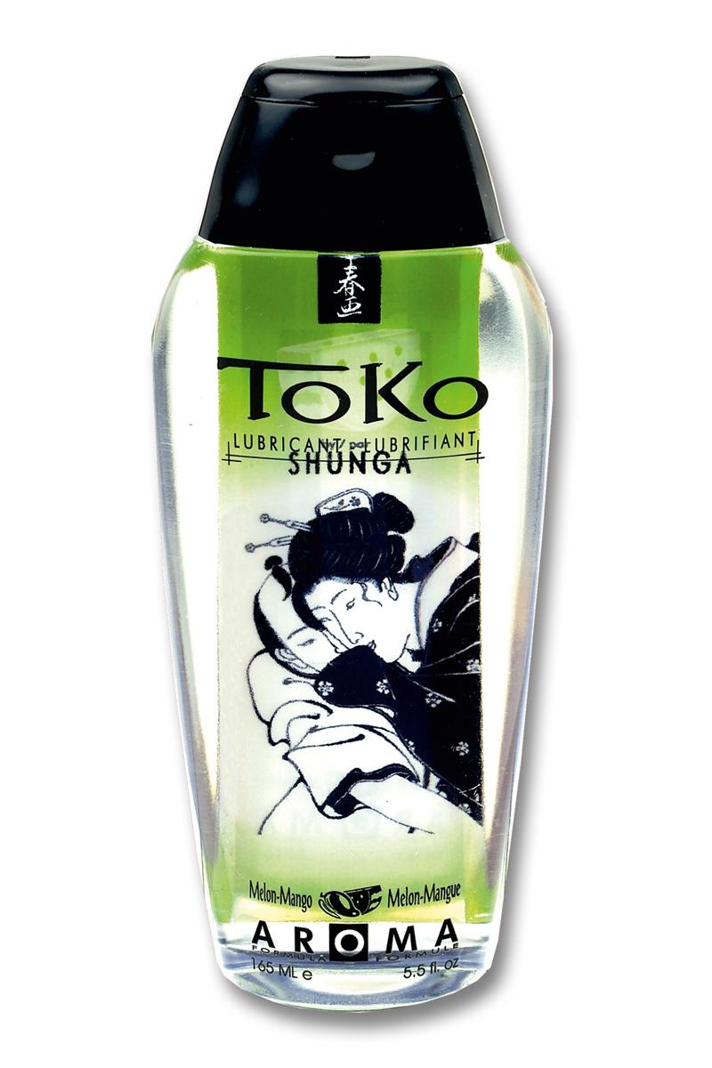Lubrifiant à base d\'eau Toko Aroma - melon et mangue - Shunga