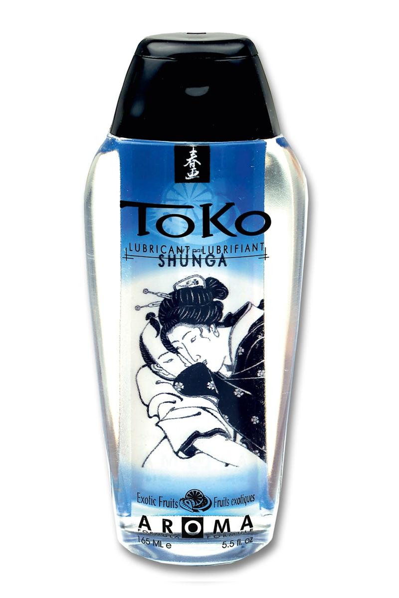 Lubrifiant à base d\'eau Toko Aroma - fruits exotiques - Shunga
