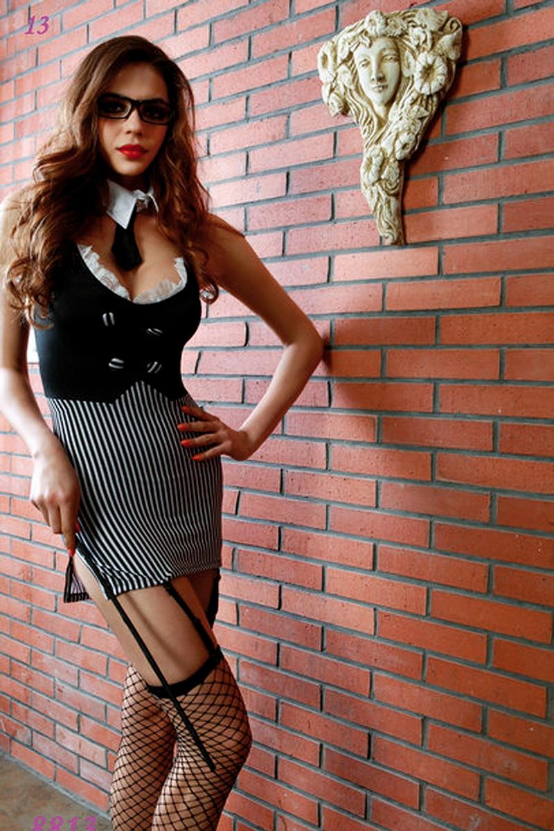 Déguisement sexy maitresse d\'école - Paris Hollywood