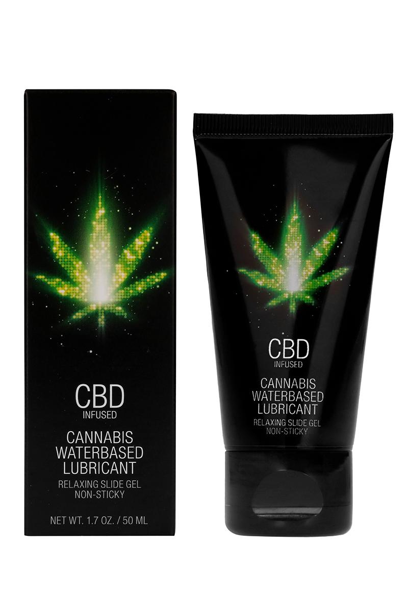 Lubrifiant à base d\'eau et de CBD Cannabis - Shots CBD