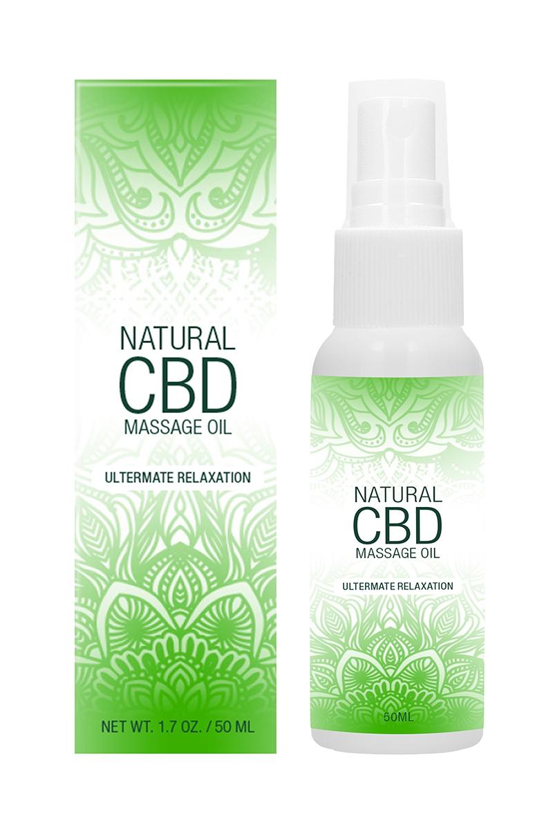 Huile de massage au CBD - Natural CBD