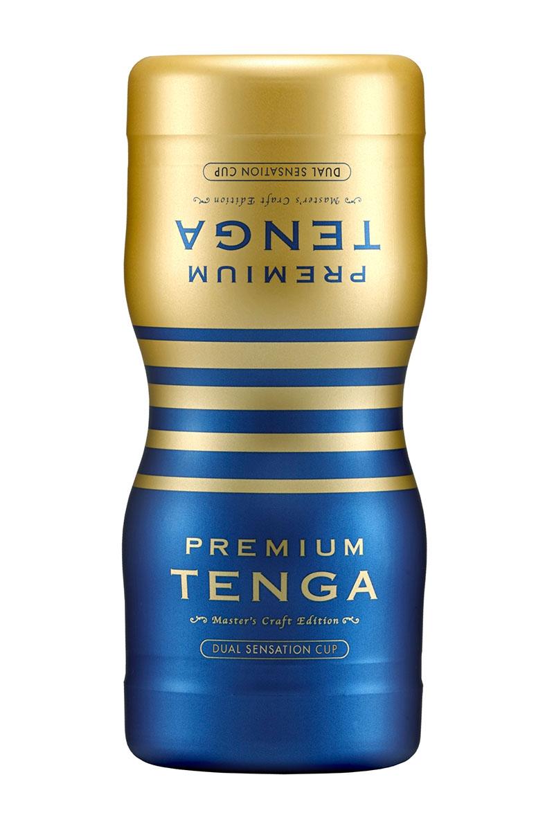 Double masturbateur Premium Dual Sensation Cup - Tenga