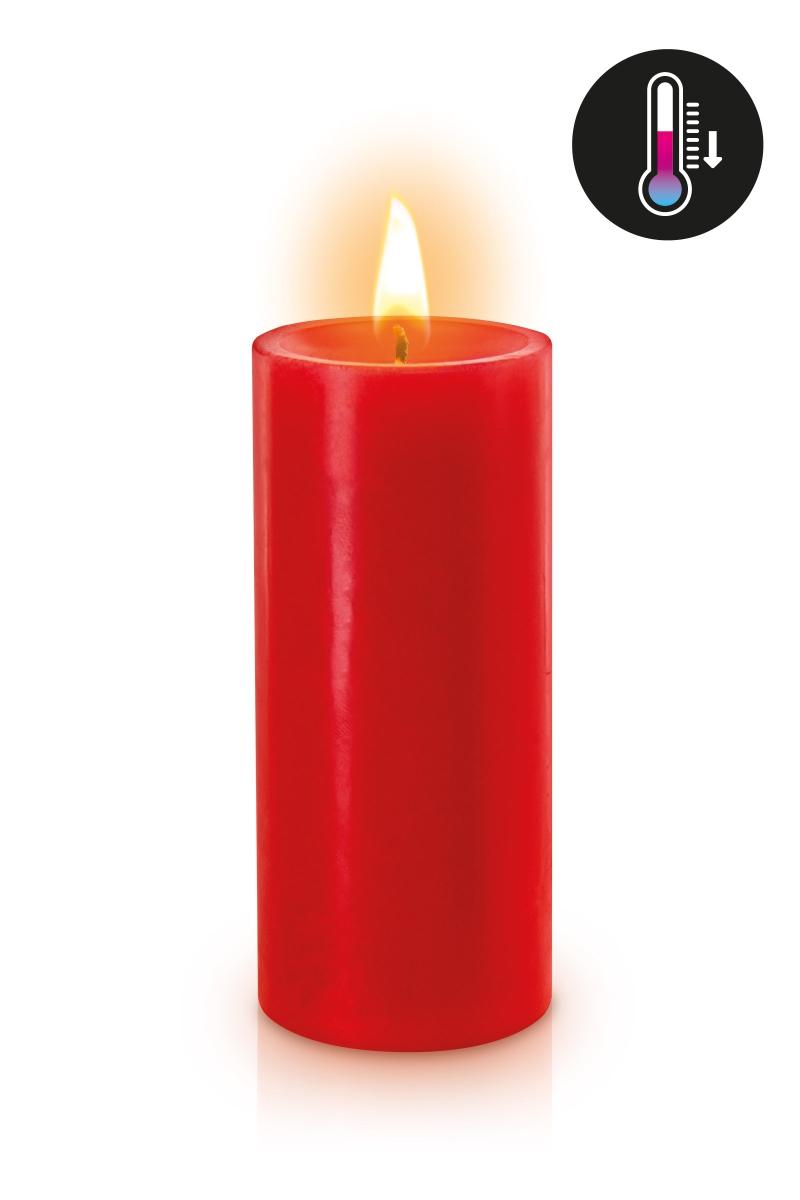 Bougie rouge BDSM basse température de la marque Fetish Tentation - oohmygod