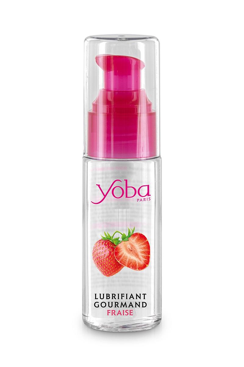 Lubrifiant Yoba parfumé fraise 50ml