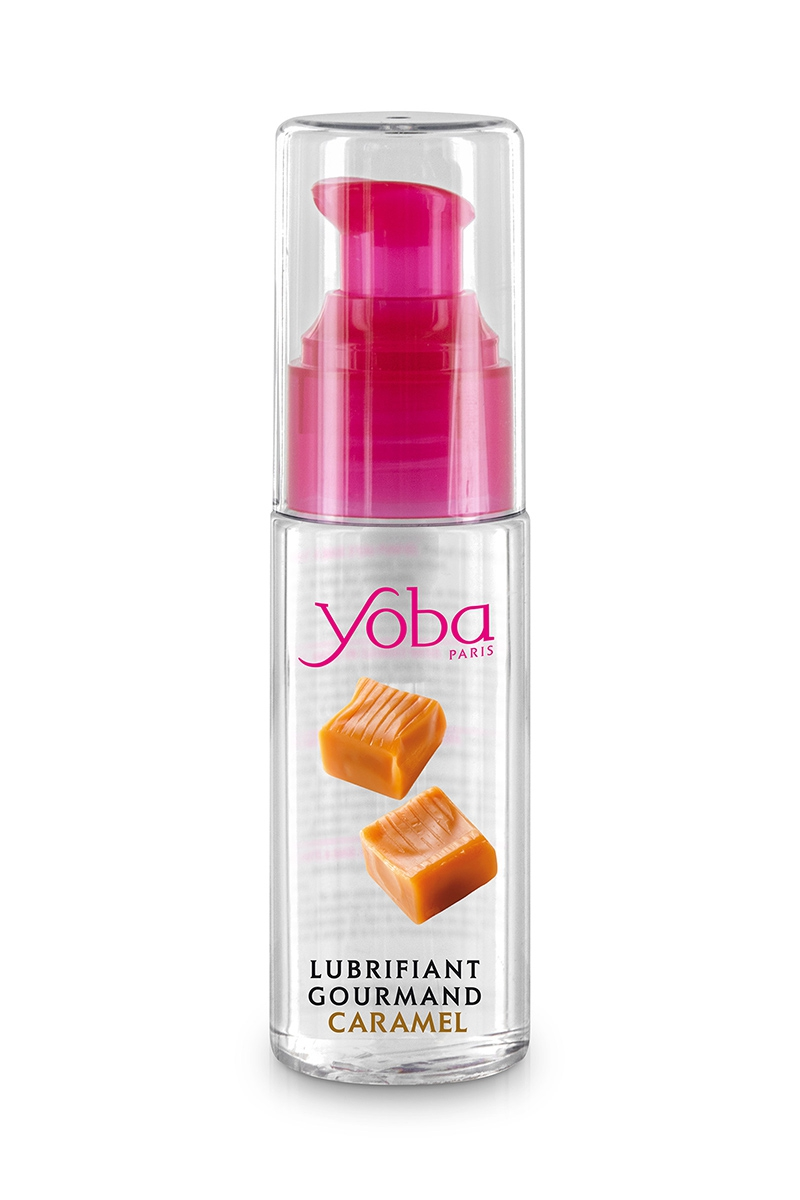 Lubrifiant Yoba parfumé caramel 50ml