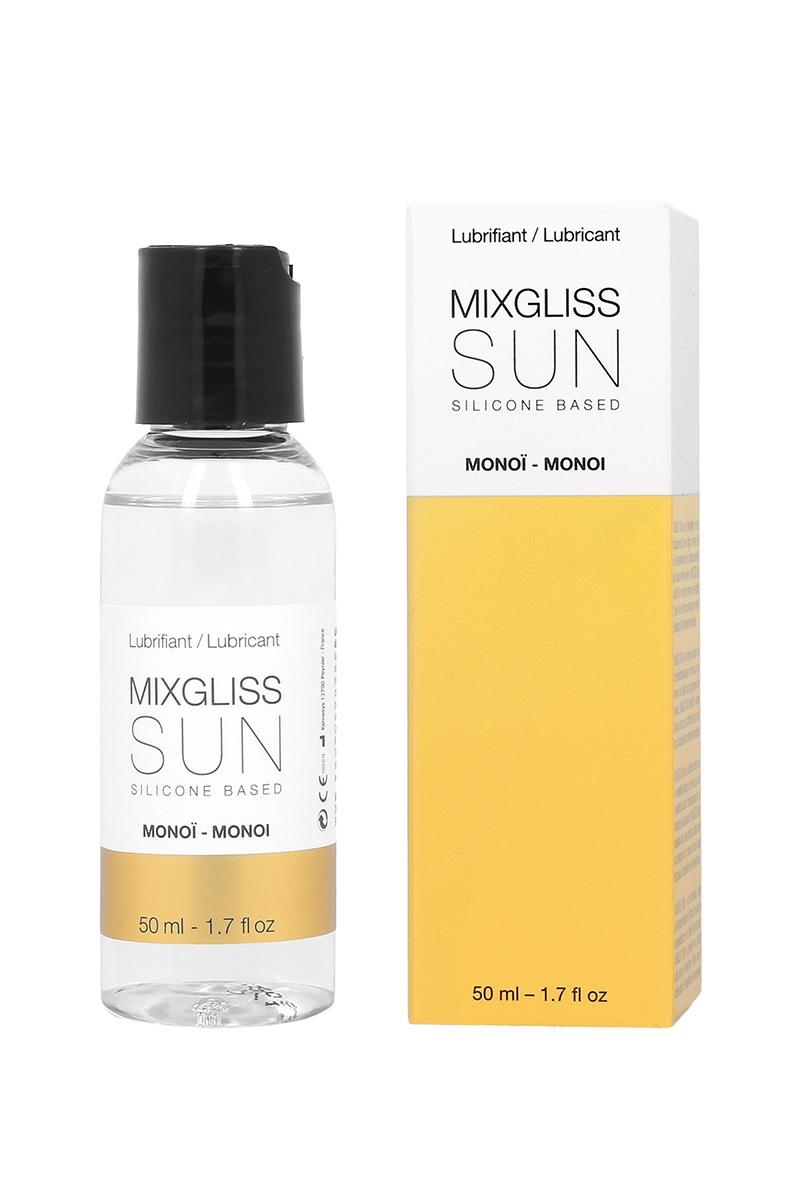 Mixgliss lubrifiant silicone 2 en 1 - Monoï - 50ml