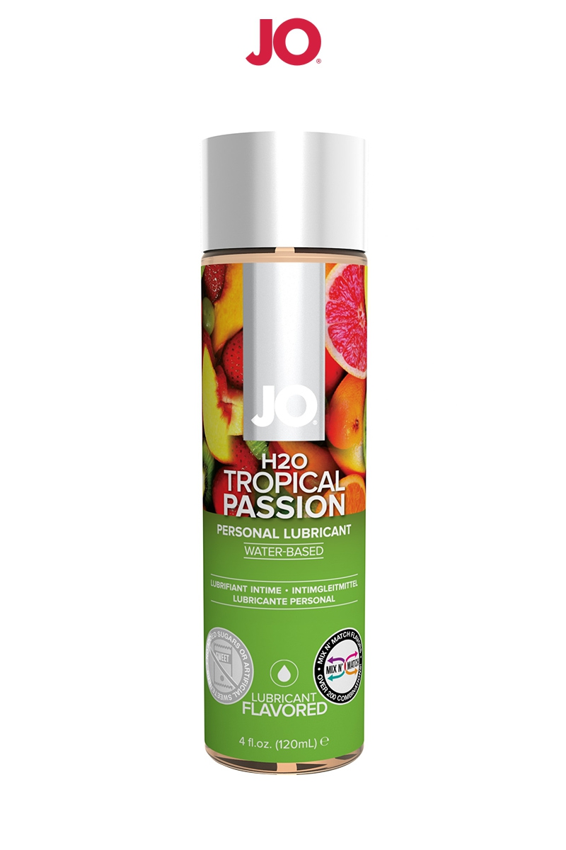 Lubrifiant aromatisé fruits exotiques 120 ml