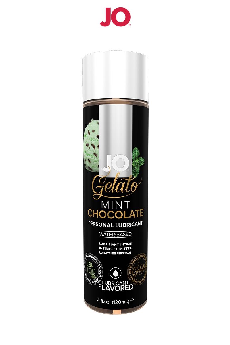 Lubrifiant aromatisé Menthe Chocolat - 120ml