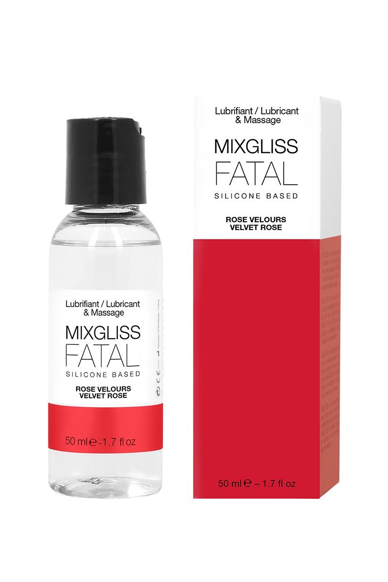 Mixgliss lubrifiant silicone 2 en 1 - Rose velours - 50ml