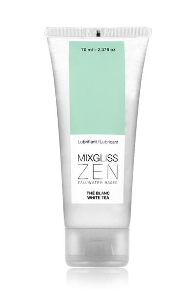 Lubrifiant à base d\'eau Zen Thé blanc - Mixgliss