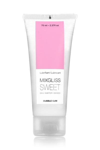 Mixgliss lubrifiant eau - Sweet Bubble Gum