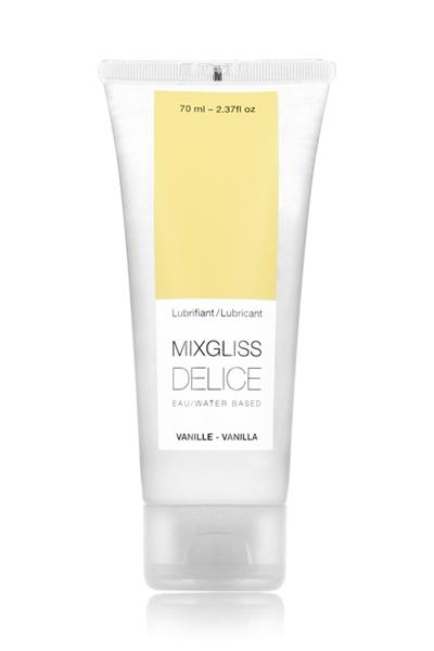 Mixgliss lubrifiant eau - Délice Vanille