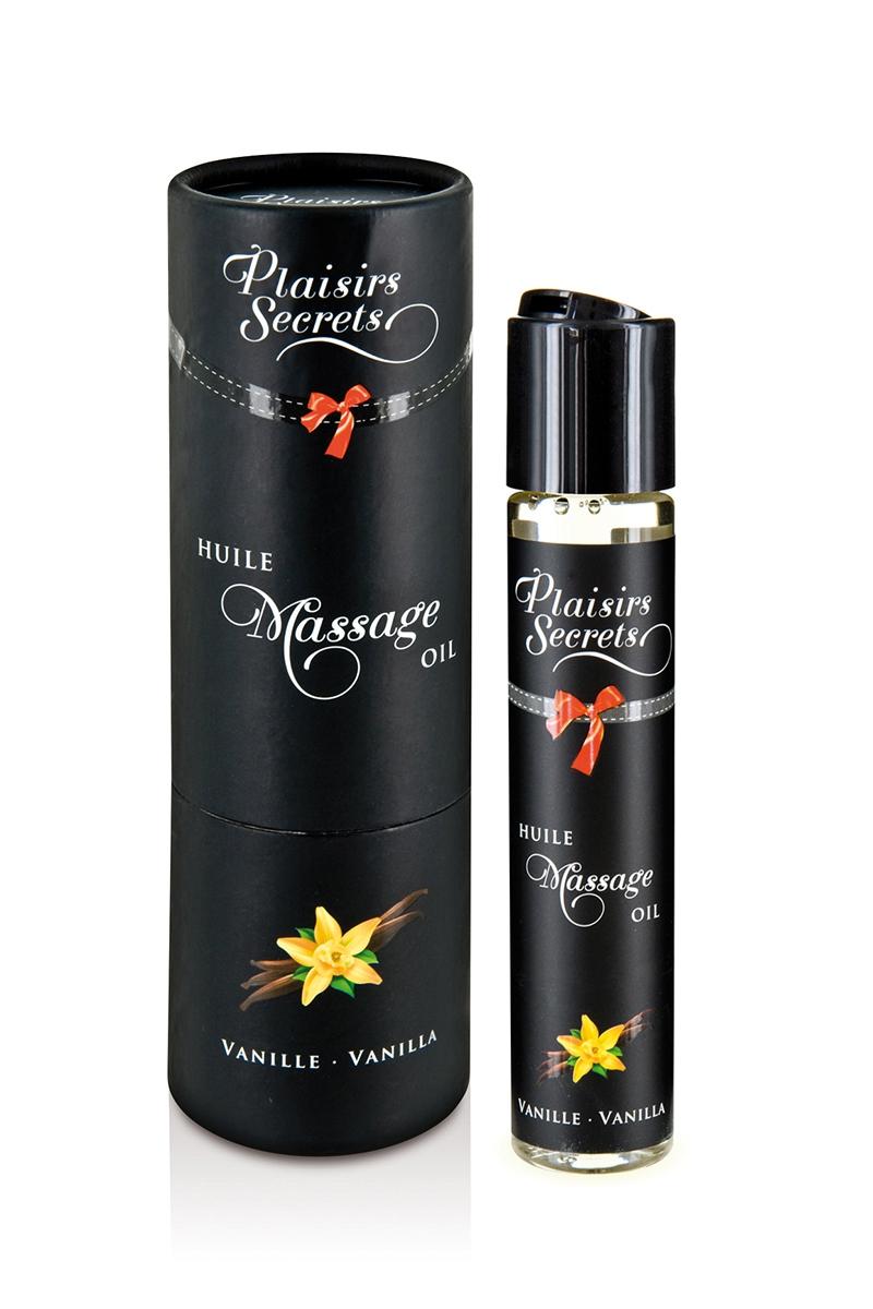 Huile de massage gourmande Vanille - Plaisir Secret