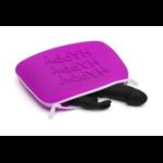pochette rabbit violet