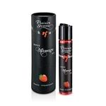 Huile de massage gourmande et comestible aromatisé à la fraise Plaisir Secret - oohmygod