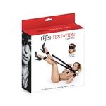 Boite de la sangle cou, chevilles et poignets de Fetish Tentation, pour les jeux BDSM et les positions sexuelles acrobatiques - oohmygod