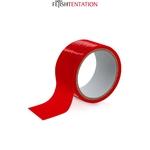 Ruban de soumission pour les jeux de bondage de la marque Fetish Tentation, ruban rouge auto-fixant de 15 mètres - oohmygod