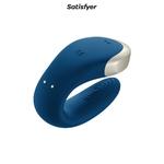 Stimulateur Double Love pour couple bleu, triple stimulation dispo chez oohmygod