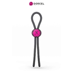 Cockring lasso Mr Dorcel en silicone, ajustable, taille unique pour faire durer et renforcer lérection