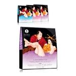 sels de bains relaxants de shunga, disponibles en 3 fragrances