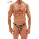 string léopard Mercury de la marque Anais for Men, pour un look BDSM et sauvage - oohmygod