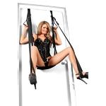 Balançoire de porte de la marque Fetish Fantasy pour sinitier au bondage extrême et découvrir de nouvelles positions sexuelles - oohmygod