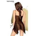 Vue arrière de la nuisette Sweet Beast de la marque Penthouse - oohmygod