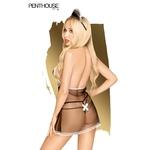 Vue arrière du costume de soubrette Teaser de chez Penthouse - oohmygod