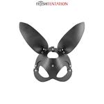 Masque Bunny sexy de la marque Fetish Tentation, masque aux oreilles de lapin, parfait pour les jeux de rôles et jeux BDSM - oohmygod