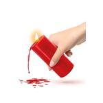 Bougie rouge BDSM basse température de la marque Fetish Tentation, pour torturer doucement son partenaire - oohmygod