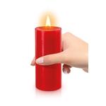 Bougie rouge spéciale BDSM de la marque Fetish Tentation, bougie qui fond à basse température - oohmygod
