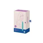 Boite du Mini stimulateur Ultra Power Bullet 6 de la marque Satisfyer, stimulation du clitoris vendu chez oohmygod