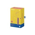 Boite du stimulateur Ultra Power Bullet 6 de la marque Satisfyer, pour la stimulation des zones érogènes externes, 12 modes de vibration - oohmygod