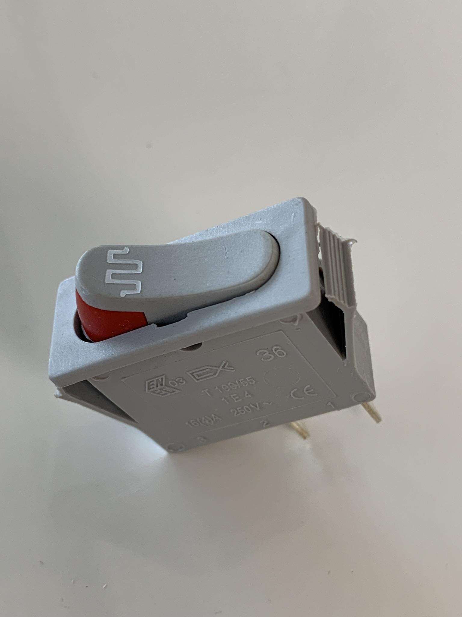 interrupteur de soudure reber