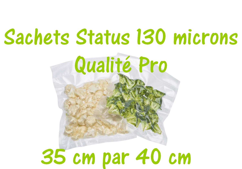 sachets status 35 cm par 40 cm