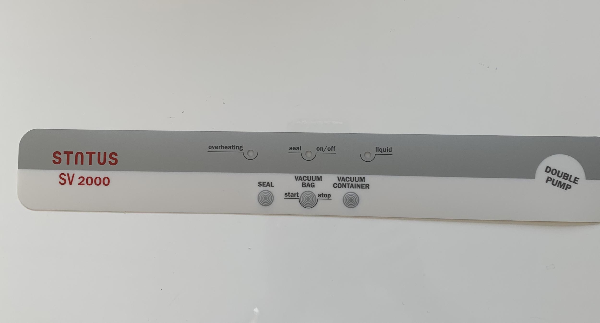 Panneau de commande SV2000 grise