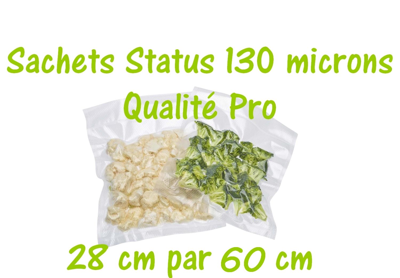 sachets status 28 cm par 60 cm