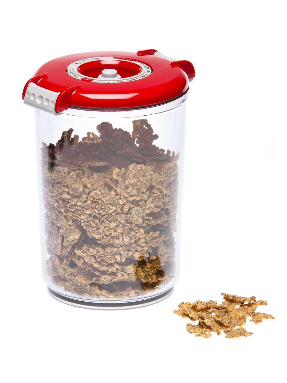 boite ronde sous vide status coulauer rouge 1.5 litres