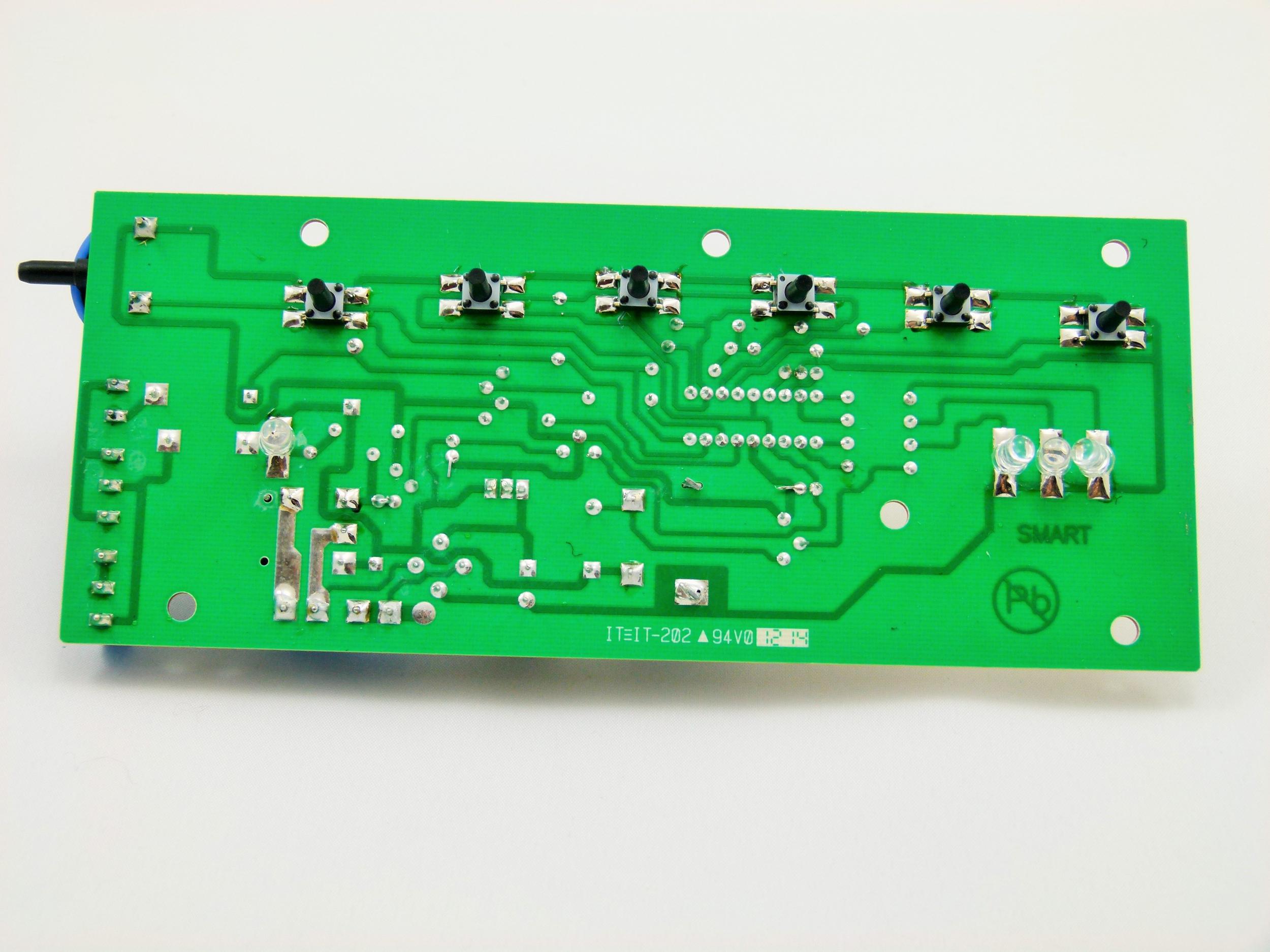 carte électrinoque status machine sous vide sv750